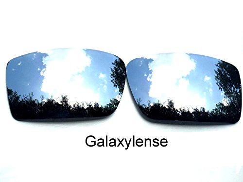 Galaxis Ersatzgläser für Oakley Gascan Silber Farbe Polarisiert.