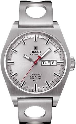 Tissot Herren-Armbanduhr Heritage PR 516 Automatik T0714301605100