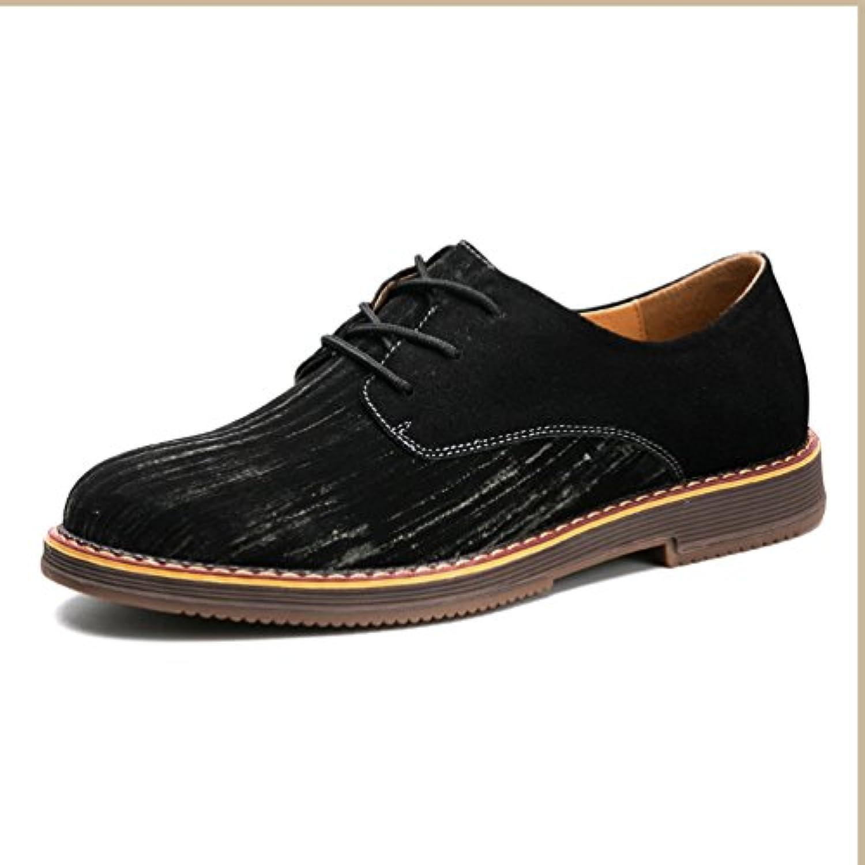Herren Chelsea Schuhe Elegant Oxford Rutschfest Gummi Sohle Leichte Modische Büro Schnürhalbschuhe