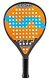 Varlion LW H ITSV Soft - Pala de pádel, Unisex Adulto, Naranja/Amarillo, 340-345 gr.