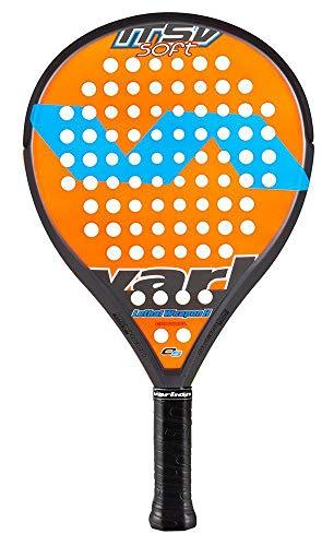 Varlion LW H ITSV Soft - Pala de pádel, Unisex Adulto, Naranja/Amarillo, 360-365 g