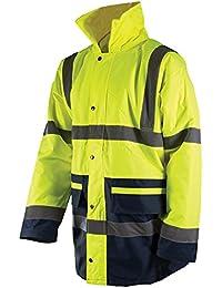 Silverline warnschutzjacke bicolore, catégorie 3 taille l (100- :  108 cm)