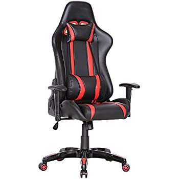 Gaming Racing Delman Stuhl Schreibtischstuhl Bürostuhl TlF1J3Kc