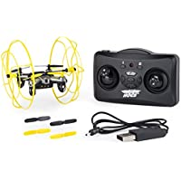 Air Hogs 20090212 Hyper Stunt Unstoppable Micro RC Drone Toy Remote Controlled Vehicles, Yellow - Compare prices on radiocontrollers.eu