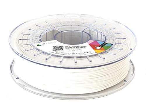 Smartfil, SMFLX0WH0A033, Flexible and Elastic Filament 3D Printer, 1.75 mm, 330 g, ivory White