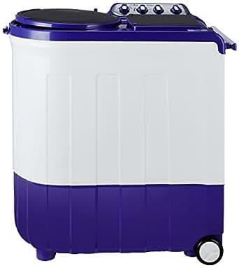 Whirlpool 8 kg Semi-Automatic Top Loading Washing Machine (Ace Turbodry 8.0, Coral Purple)