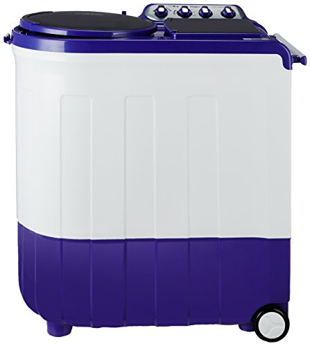 Whirlpool 8 kg Semi-Automatic Top Loading Washing Machine (ACE TURBO DRY 8.0, Coral Purple, 2X Drying Power)