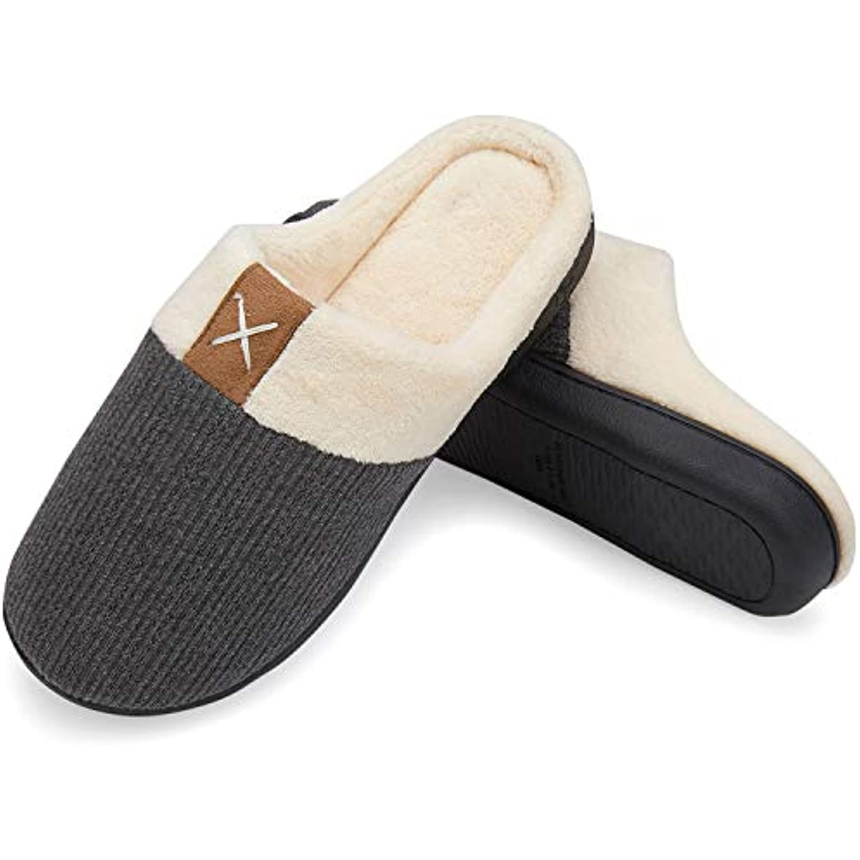 welltree Hommes Chaussons Pantoufles Molles Maison Mousse Mémoire Maison  Molles Pantoufles Chaussures Chaudes d hiver Pantoufles... - B07G868CFM -  12ebf3 9aa57285151b