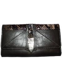 H&G Mesdames LYDC Designer Faux cuir sacoche Animal imprimer Trifold Purse \ Wallet