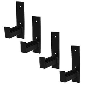 4x wand reifenhalter felgenbaum reifenregal reifen felgen wandhalterung wandhalter auto. Black Bedroom Furniture Sets. Home Design Ideas