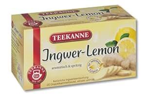 Teekanne Ingwer Lemon 20 Beutel, 4er Pack (4 x 35 g Packung)