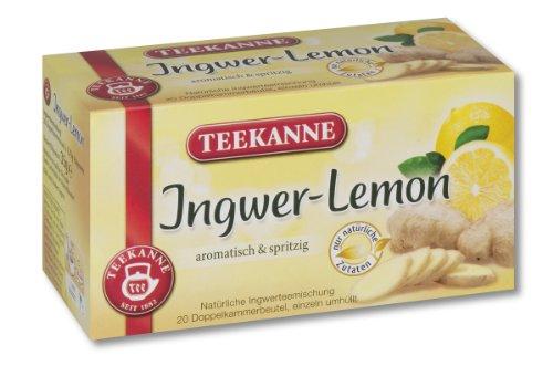 Teekanne Ingwer Lemon 20 Beutel, 4er Pack (4 x 35 g Packung) 3