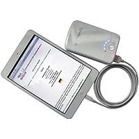 Startech Power Bank für Apple ipad Mini, Apple iphone 5 5G 5Gs, Apple Nano 7 mit 8-Pin Lightning Anschluß - externer Akku mit 12000 (!) mAh inklusive 8 PIN USB Kabel - weiss