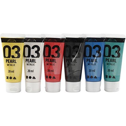 a-color-acrylic-paint-asstd-colours-03-metallic-6x20ml