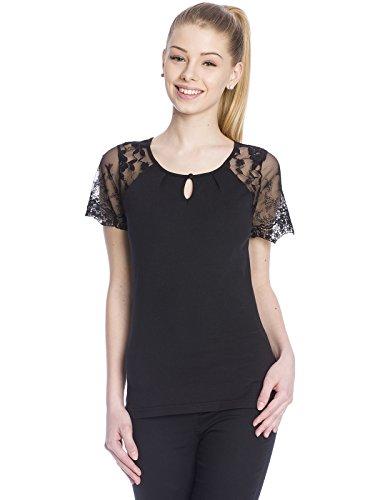 Vive Maria 33493, T-Shirt Donna, Nero (Black Black), XS (Taglia Produttore: XS)