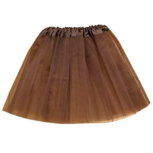 Cinnamon Mädchen Kinder Baby Tanz elastische Tutu Rock Pettiskirt Ballett Fancy Rock Tutu Kleider-Mini Prinzessinkleid
