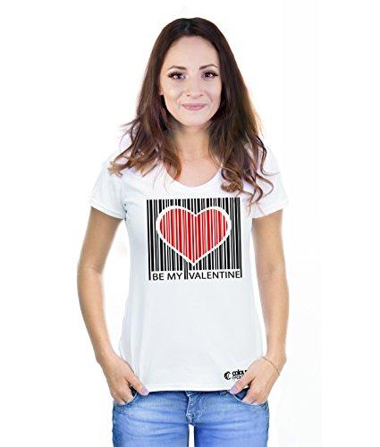 Colour Fashion T-shirt - Donna White