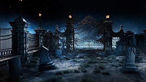 FORH 3D Studio Hintergrundtuch Halloween Backdrops Muster Hintergrund Fotografie Studio Fotografie Hintergrund Kürbis Vinyl 5 x 3FT Laterne Foto Stoffhintergrund
