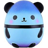 Anboor Squishies Panda Uovo Galassia La compressione lenta aumenta i giocattoli Squishies profumati dello zucchero di Kawaii Primo di rilievo di sforzo Raccolta del regalo (1 pz, 14 * 14 * 16 cm)