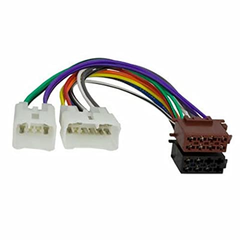 Radio-Adapterkabel DAIHATSU/TOYOTA/LEXUS auf ISO (Spannung + 4 Lautsprecher)