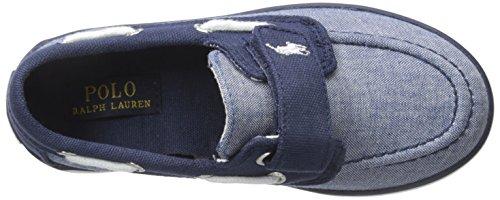 Polo Ralph Lauren Sander Ez, Chaussures bateau garçon Bleu - Bleu (BLUE CHAMBRAY)