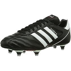 adidas Kaiser 5 Cup, Chaussures de football homme - Noir (Black/Running White/Red), 40 2/3 EU (7 UK) (7.5 US)