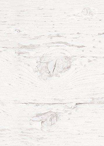 25 Blatt Briefpapier Druckerpapier blanko alt WEISS HOLZ-Optik beidseitig bedruckt 100g Schreibpapier Motiv-Papier DIN A4 Brief-Bogen altweis rustikal shabby vintage Papier