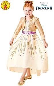 Rubies 300461 9-10 Disney Frozen 2 - Disfraz de Frozen 2, para niñas, multicolor