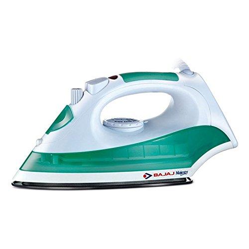 Bajaj Majesty Mx8 1200 Watt Steam Iron (Green White)