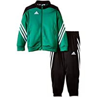 Adidas Sereno 14 tuta da allenamento Junior twilight green-black-white - 128