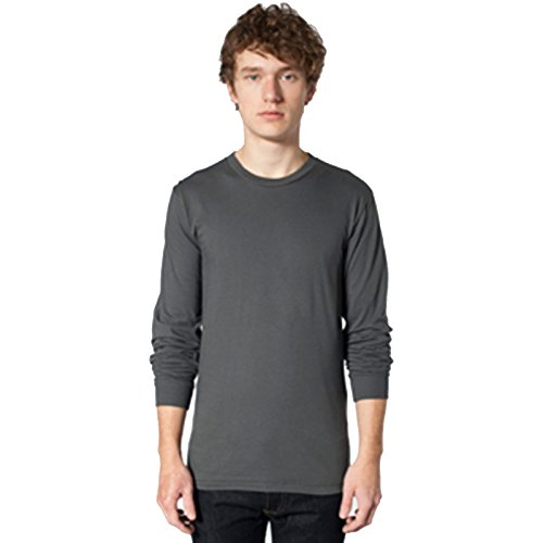 American Apparel Herren T-Shirt Asphalt