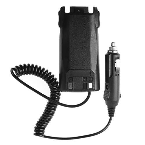 ZOUCY Car Charger Eliminator Adattatore per Baofeng UV-82 Radio Walkie Talk