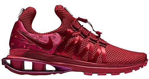 NIKE Women's Shox Gravity Shoes (9.5, Red/Pink) (Shox Womens Shoes)