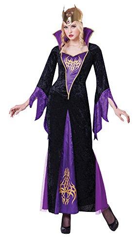7Kostüm Zauberin, Violett, UK 10–14 (Maleficent'kinder Kostüme)
