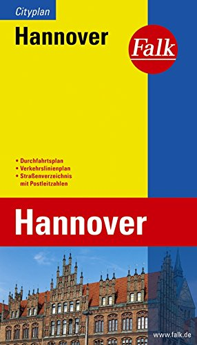 Falk Cityplan Hannover