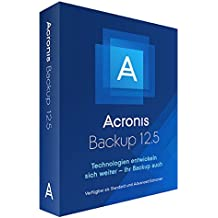 Acronis Backup 12.5 Standard Windows Server Essentials