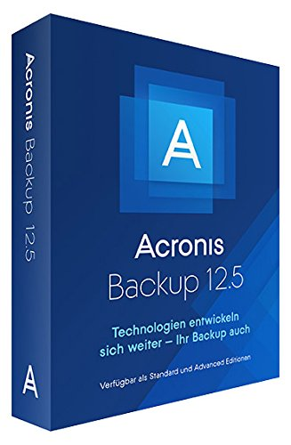Acronis Backup 12.5 Standard Workstation Image-backup