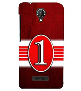 PRINTSWAG TYPOGRAPHY Designer Back Cover Case for MICROMAX CANVAS SPARK Q380