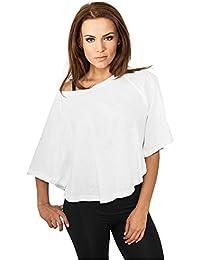 Blouse Top Uni pour Femmes T-shirt Manches 3/4 Tops Urban Classics