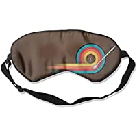 Comfortable Sleep Eyes Masks Play Colorful Record Printed Sleeping Mask For Travelling, Night Noon Nap, Mediation... preisvergleich bei billige-tabletten.eu