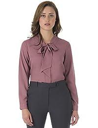 9a5d2b2ae84 FabAlley Women s Regular Fit Georgette Shirt