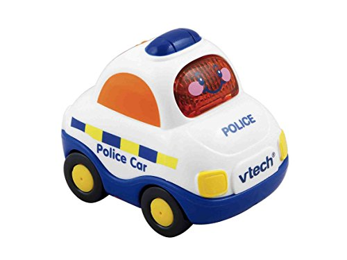 VTech - Tut Tut Bólidos - Coche Policía - Policía Mathis Inglés Versión (UK Import Idioma Inglés)