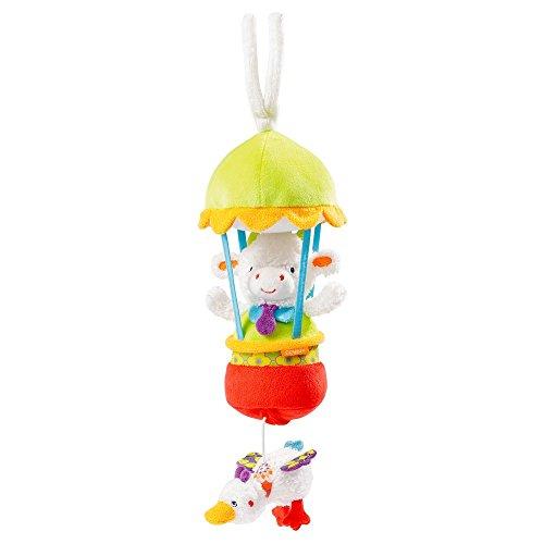 (Fehn 70064 Babyspielzeug Spieluhr Kuh in Ballon)