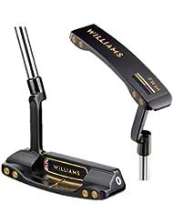 Williams F1Racing Golf FW16Edition brillante negro PVD recubierto para palo de golf no '0'