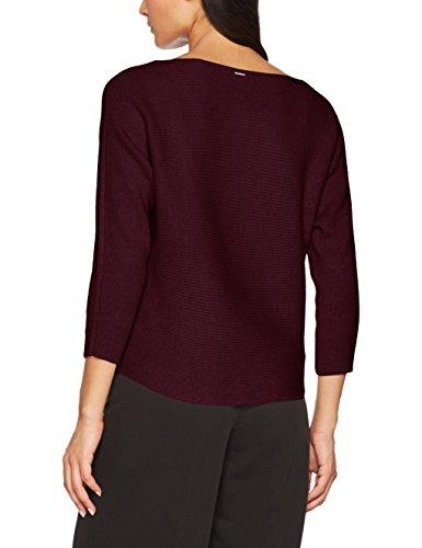 s.Oliver Damen Pullover Mehrfarbig (Jewel Red Melange 49W0)