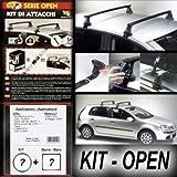 Superauto Kit + Barres de Toit Railing Open Fiat 500L à partir de...