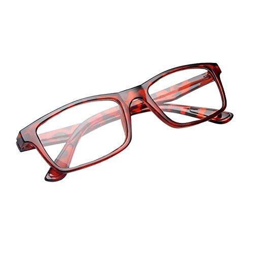 Haodasi Plastik volle Rahmen rechteckige Art und Weise Lesegläser presbyopia Gläser