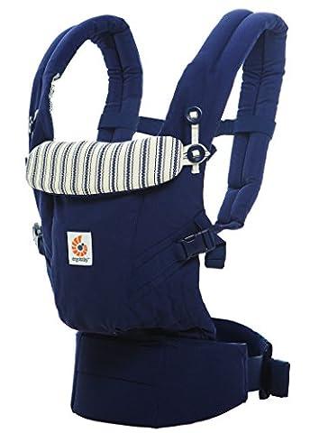 Porte-Bébé Ergobaby Collection Adapt (3,2 - 20 kg), Amiral bleu