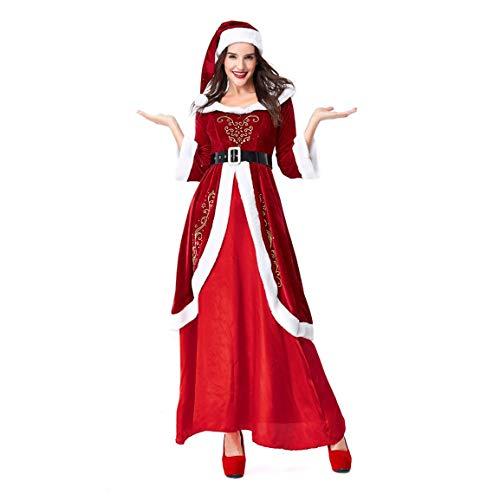 (Frauen Männer Weihnachten Anzüge Mode Neuheit Kostüm Cosplay Ball Party Weihnachten Anzug Unix Paar Liebhaber Sets Moonuy)