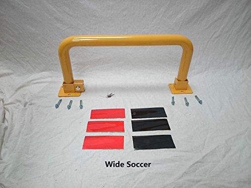 buybysky-heavy-duty-fold-down-metal-bollard-for-security-driveway-parking-wide-soccer